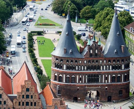 Hausverwaltung Wertkonzepte Lübeck in der Nähe des Holstentors