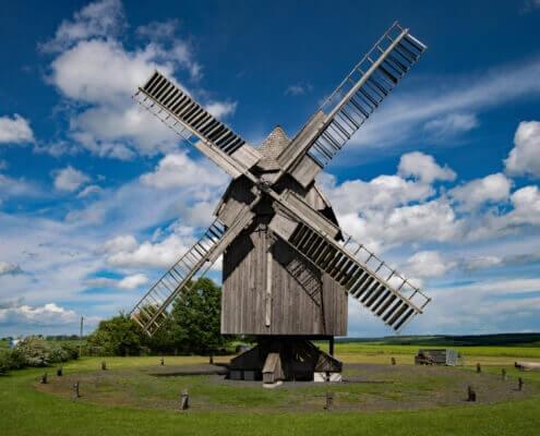 Mühlen waren für Malente eine wichtige Immobilie