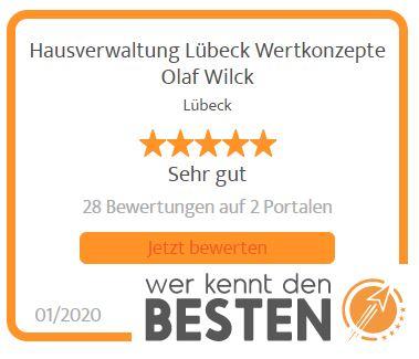 Hausverwaltung mit Wertkonzepte Olaf Wilck aus Lübeck